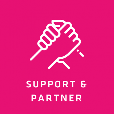 Partner, Support & Connect